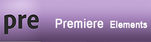 Adobe Premiere Elements logo - henviser til Dolphin Consults Premiere Elements kursus side