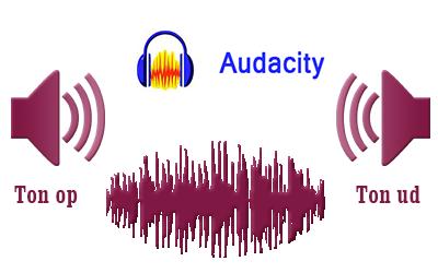 Audacity – Ton din lydfil ind og ud