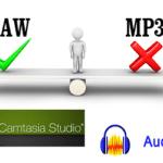 Brug WAV-lydfil til dine Camtasia videoer