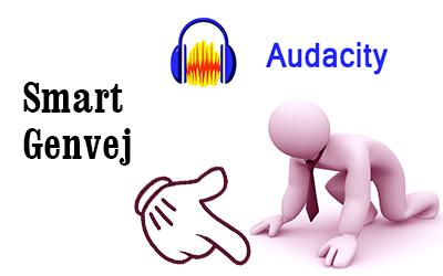 Audacity – Opret dine egne genvejstaster