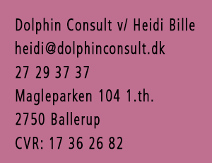 Dolphin Consult og Heidi Bille