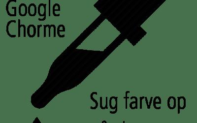 Eye Dropper – Sug farve op på skærm med Google Chrome