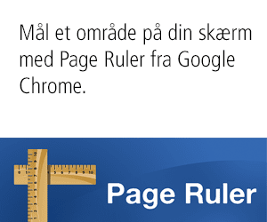 Page Ruler – Mål skærmområde med Google Chrome