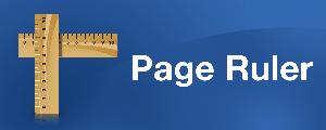Page Ruler i Google Chrome Browser