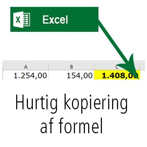 Nem kopiering af formel