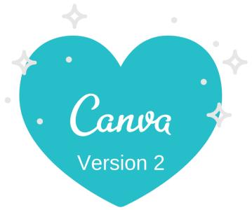 Canva – grafik fra version 1 til 2