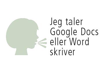 Tale til tekst Word vs. Google Docs